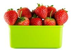 απομονωμένη φράουλα Στοκ Εικόνα