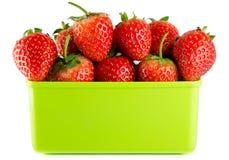 απομονωμένη φράουλα Στοκ εικόνα με δικαίωμα ελεύθερης χρήσης