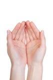 απομονωμένη χέρια γυναίκα στοκ εικόνα με δικαίωμα ελεύθερης χρήσης
