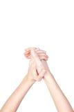 απομονωμένη χέρια γυναίκα στοκ εικόνες με δικαίωμα ελεύθερης χρήσης