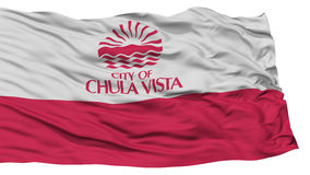Απομονωμένη Vista Chula σημαία πόλεων, Ηνωμένες Πολιτείες της Αμερικής Στοκ Φωτογραφίες