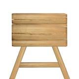 απομονωμένος άσπρος ξύλινος σημαδιών Ξύλινο παλαιό σημάδι σανίδων Στοκ φωτογραφία με δικαίωμα ελεύθερης χρήσης