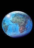απομονωμένος γη πλανήτης ελεύθερη απεικόνιση δικαιώματος
