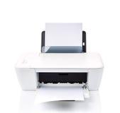 απομονωμένος εκτυπωτής Στοκ εικόνες με δικαίωμα ελεύθερης χρήσης