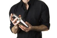 Απομονωμένος δονητής μπάρμαν στοκ εικόνες με δικαίωμα ελεύθερης χρήσης
