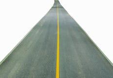 απομονωμένος δρόμος Στοκ Φωτογραφίες
