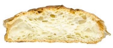 Απομονωμένος τέμνων βουτυρώδης croissant στοκ φωτογραφία με δικαίωμα ελεύθερης χρήσης