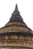 Απομονωμένος της παλαιάς παγόδας σε Wat Umong, Chiangmai, Ταϊλάνδη Στοκ Φωτογραφίες
