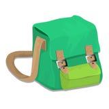 Απομονωμένος της σχολικής τσάντας - διανυσματική απεικόνιση Στοκ εικόνα με δικαίωμα ελεύθερης χρήσης