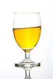 Απομονωμένο ποτήρι του ποτού Στοκ Εικόνες