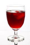 Απομονωμένο ποτήρι του ποτού Στοκ εικόνα με δικαίωμα ελεύθερης χρήσης