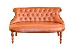 απομονωμένος τρύγος καναπέδων στοκ φωτογραφία με δικαίωμα ελεύθερης χρήσης
