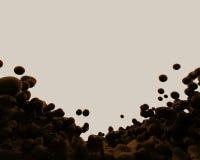 απομονωμένος υγρός παφλ&alp Στοκ φωτογραφία με δικαίωμα ελεύθερης χρήσης