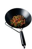 απομονωμένος wok Στοκ εικόνες με δικαίωμα ελεύθερης χρήσης
