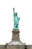 απομονωμένο άγαλμα ελευθερίας Στοκ εικόνα με δικαίωμα ελεύθερης χρήσης