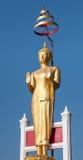 Απομονωμένο άγαλμα του Βούδα Στοκ Εικόνες