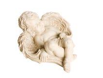 απομονωμένο άγγελος putto Στοκ Εικόνες