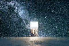 απομονωμένο έννοια λευκό ευκαιρίας Στοκ εικόνα με δικαίωμα ελεύθερης χρήσης