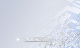 απομονωμένο έννοια λευκό τεχνολογίας Στοκ Εικόνες