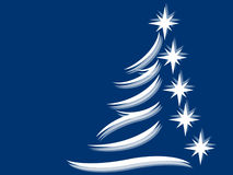 απομονωμένο έλατο λευκό δέντρων Στοκ εικόνες με δικαίωμα ελεύθερης χρήσης