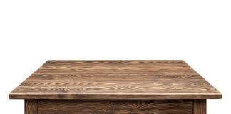 Απομονωμένο αγροτικό tabletop Στοκ Εικόνες