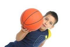 απομονωμένο αγόρι παιχνίδι Στοκ φωτογραφίες με δικαίωμα ελεύθερης χρήσης