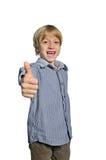 Απομονωμένο αγόρι παιδιών Στοκ φωτογραφία με δικαίωμα ελεύθερης χρήσης