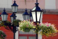 απομονωμένο λαμπτήρων λευκό οδών 8 eps Στοκ φωτογραφία με δικαίωμα ελεύθερης χρήσης