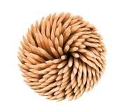 απομονωμένο ανασκόπηση toothpicks ά Στοκ Εικόνα