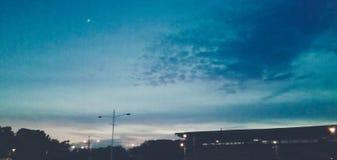 απομονωμένο αστέρι στοκ φωτογραφία με δικαίωμα ελεύθερης χρήσης