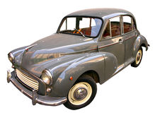 απομονωμένο αυτοκίνητο εκλεκτής ποιότητας λευκό Στοκ φωτογραφίες με δικαίωμα ελεύθερης χρήσης