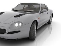 απομονωμένο αυτοκίνητο &sigm ελεύθερη απεικόνιση δικαιώματος