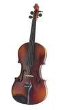 απομονωμένο βιολί Στοκ Εικόνες