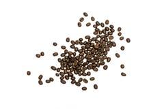 απομονωμένο βλασταημένο λευκό στούντιο φασολιών ανασκόπησης καφές μαύρο στενό μαλακό επάνω λευκό μαξιλαριών μικροφώνων ακουστικών Στοκ Εικόνα