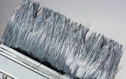 απομονωμένο βούρτσα λευκό χρωμάτων Στοκ Φωτογραφία