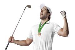 απομονωμένο γκολφ καλυμμένο φορέας στούντιο Στοκ Εικόνα