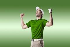 απομονωμένο γκολφ καλυμμένο φορέας στούντιο Στοκ Φωτογραφία