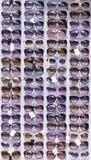 απομονωμένο γυαλιά λευκό ήλιων Στοκ Εικόνες