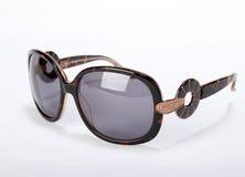 απομονωμένο γυαλιά λευκό ήλιων Στοκ εικόνες με δικαίωμα ελεύθερης χρήσης