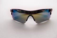 απομονωμένο γυαλιά λευκό ήλιων Στοκ φωτογραφίες με δικαίωμα ελεύθερης χρήσης