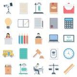 Απομονωμένο διανυσματικό καλύτερο Editable εικονιδίων εκπαίδευσης το χρώμα για τα προγράμματα εκπαίδευσης Στοκ Εικόνες