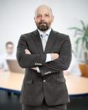 απομονωμένο επιχείρηση άτομο ανασκόπησης πέρα από το λευκό Στοκ φωτογραφία με δικαίωμα ελεύθερης χρήσης