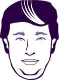 απομονωμένο επιχείρηση άτομο ανασκόπησης πέρα από το λευκό διανυσματική απεικόνιση