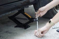 απομονωμένο λευκό αντικειμένου γρύλων ανασκόπησης αυτοκίνητο Στοκ φωτογραφία με δικαίωμα ελεύθερης χρήσης