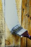 απομονωμένο λευκό εργαλείων ζωγραφικής ανασκόπησης βούρτσα Στοκ Εικόνες