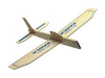 απομονωμένο λευκό παιχνιδιών αεροπλάνων Στοκ εικόνες με δικαίωμα ελεύθερης χρήσης