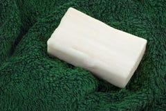 απομονωμένο λευκό σαπουνιών αντικειμένου ανασκόπησης ράβδος Helath Στοκ Εικόνα