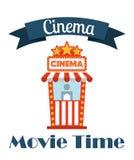 απομονωμένο λευκό σκηνικού κινηματογράφου κινηματογράφων εικονίδια διανυσματική απεικόνιση