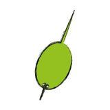 Απομονωμένο ελιά εικονίδιο κοκτέιλ απεικόνιση αποθεμάτων