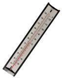 απομονωμένο θερμόμετρο &upsilon Στοκ Εικόνες